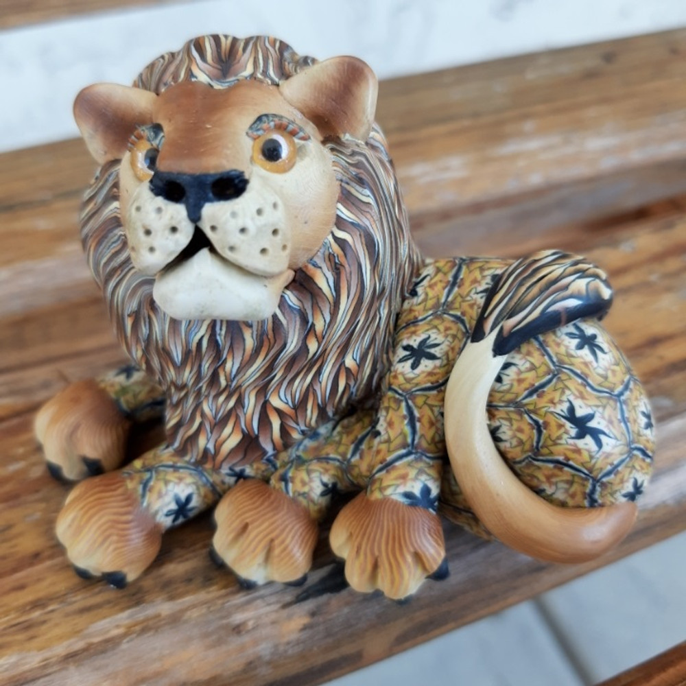 Lion Baby Figurine   FimoCreations   FCFLIB