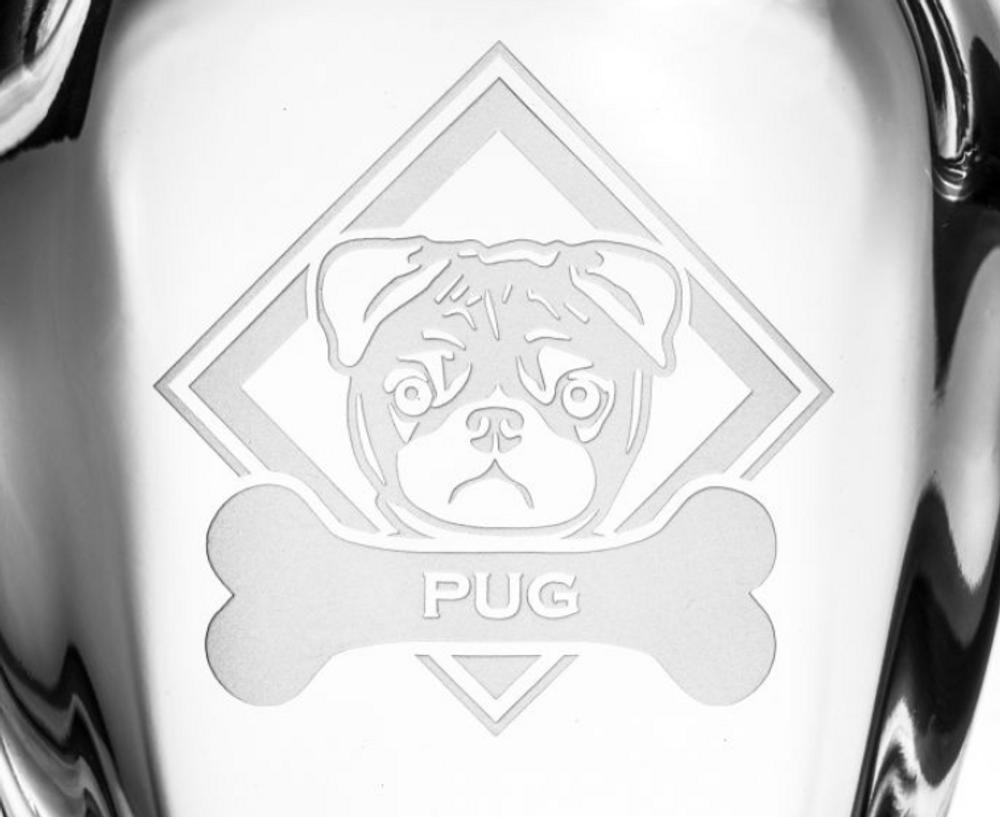 Pug Glass Decanter | Rolf Glass | 365800