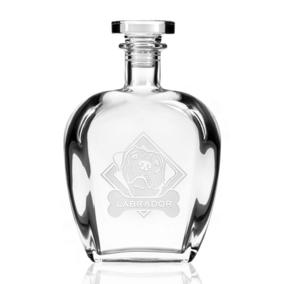 Labrador Glass Decanter | Rolf Glass | 360805