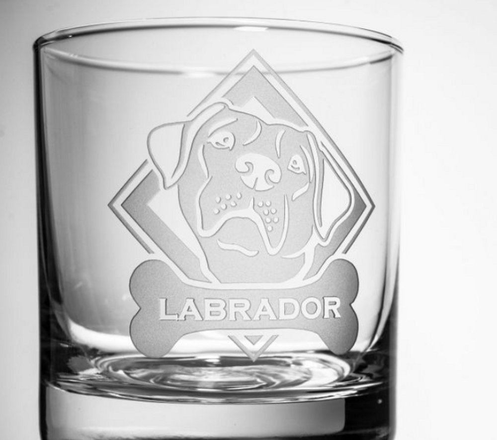 Labrador Rocks Glass Set of 4 | Rolf Glass | 360683