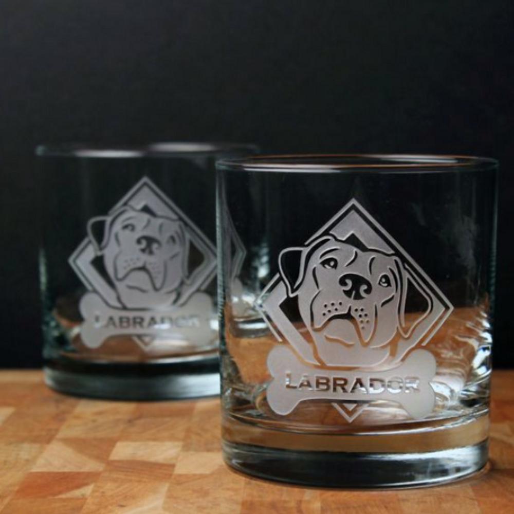 Labrador Rocks Glass Set of 4 | Rolf Glass | 360683