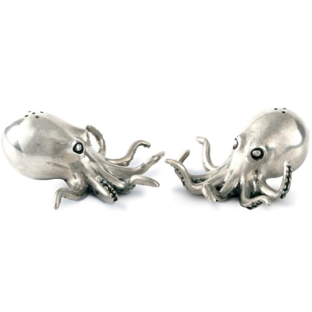 Octopus Salt Pepper Shakers   Vagabond House   O116O