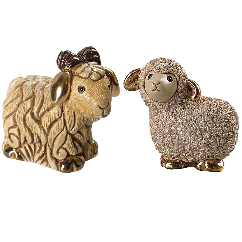 Ceramic Nativity Figurine 13 Piece Set | De Rosa| nativity13pc -7
