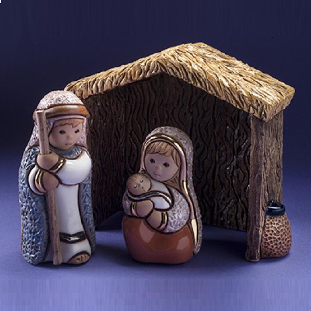 Ceramic Nativity Figurine 13 Piece Set | De Rosa| nativity13pc -2