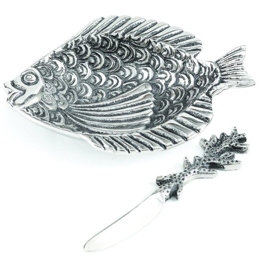 Fish Aluminum Dip Dish | Star Home Designs | 41644