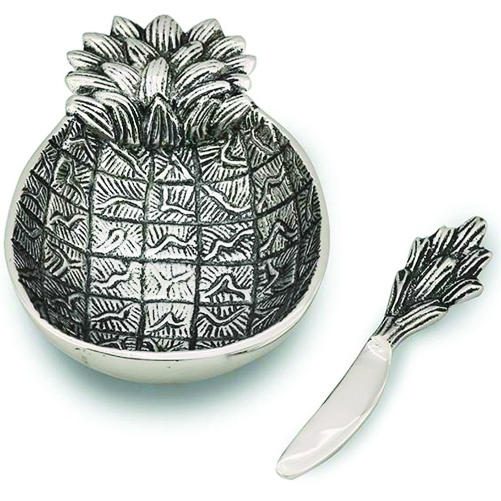 Pineapple Aluminum Dip Dish | Star Home Designs | 41662