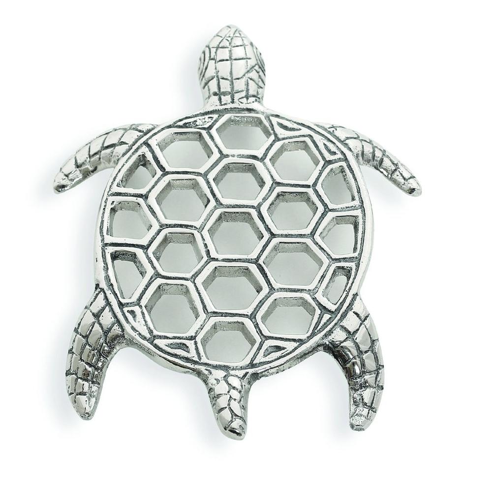 Lakeside Turtle Aluminum Trivet   Star Home Designs   41893
