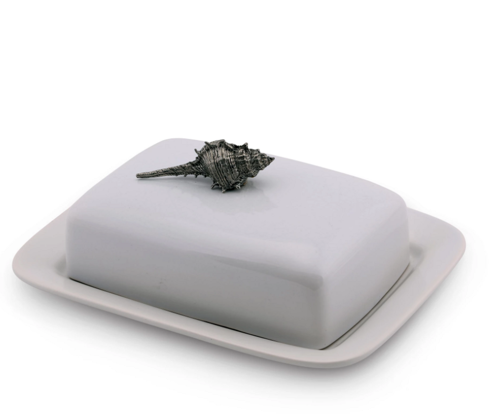 Shell Butter Dish | Vagabond House | O340S