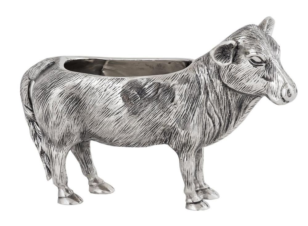 "Cow Aluminum Bowl ""Ranch""| Star Home Designs | 42261"
