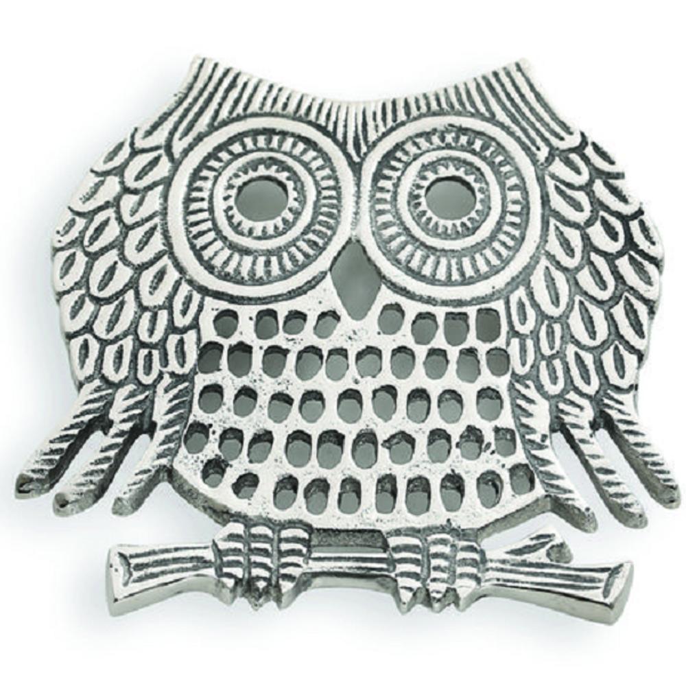 Owl Aluminum Trivet | Star Home Designs | 41887