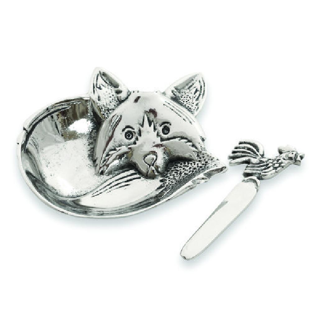 Fox Aluminum Dip Dish | Star Home Designs | 41836