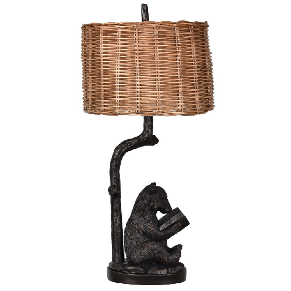 Bear Knowledge Table Lamp | Crestview Collection | CVCCVAVP674