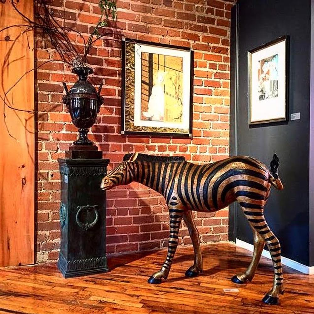 Zebra Baby Bronze Sculpture | Metropolitan Galleries | SRB15088