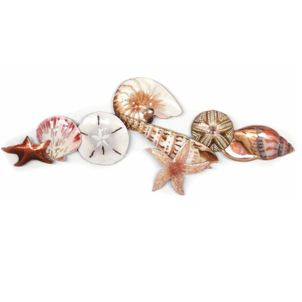 Bovano Shell and Sea Life Wall Art | W1019