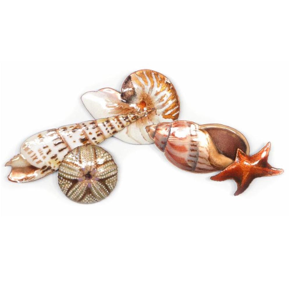 Bovano Starfish and Sea Life Wall Art | W1018
