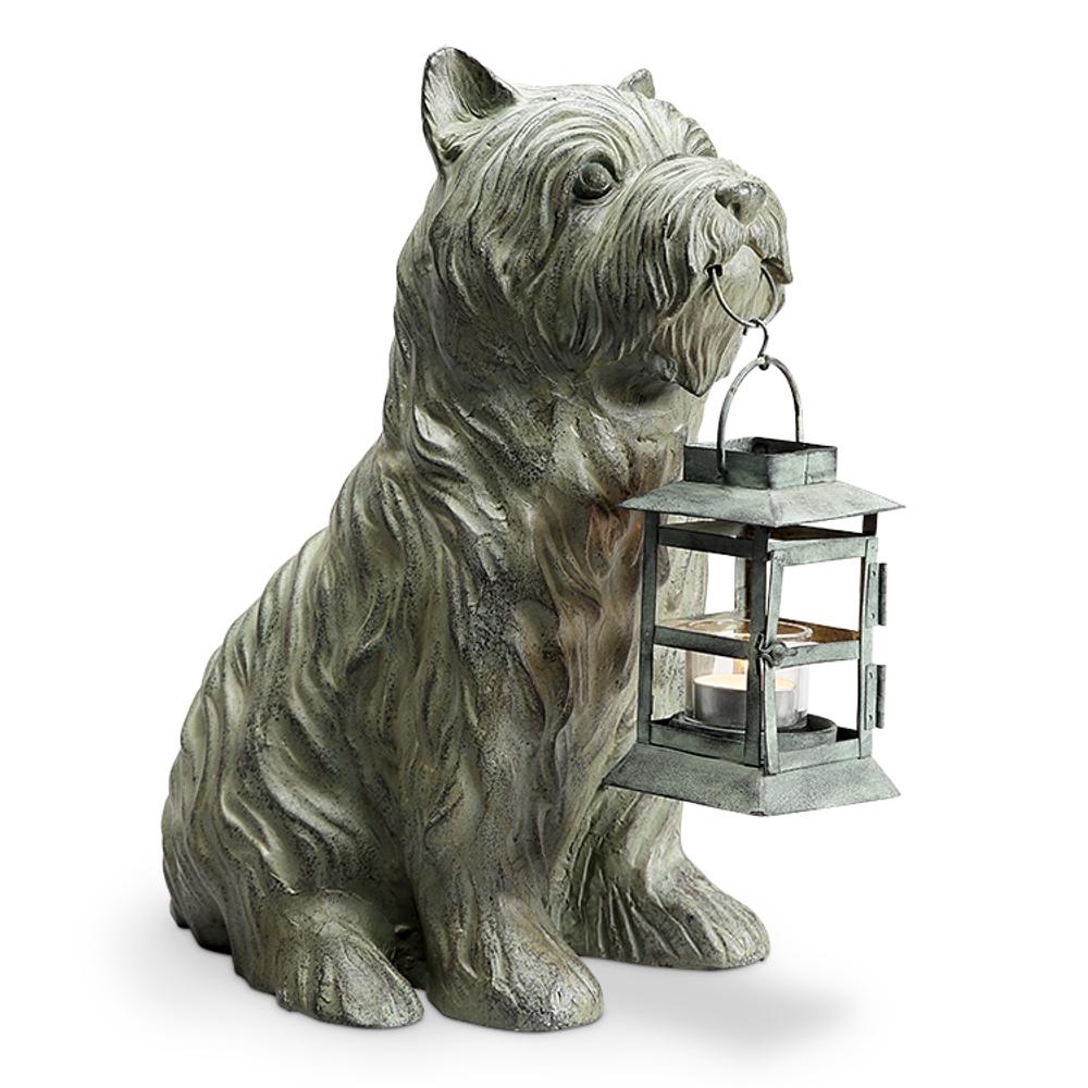 Patient Pooch Garden Lantern | SPI Home | 34938