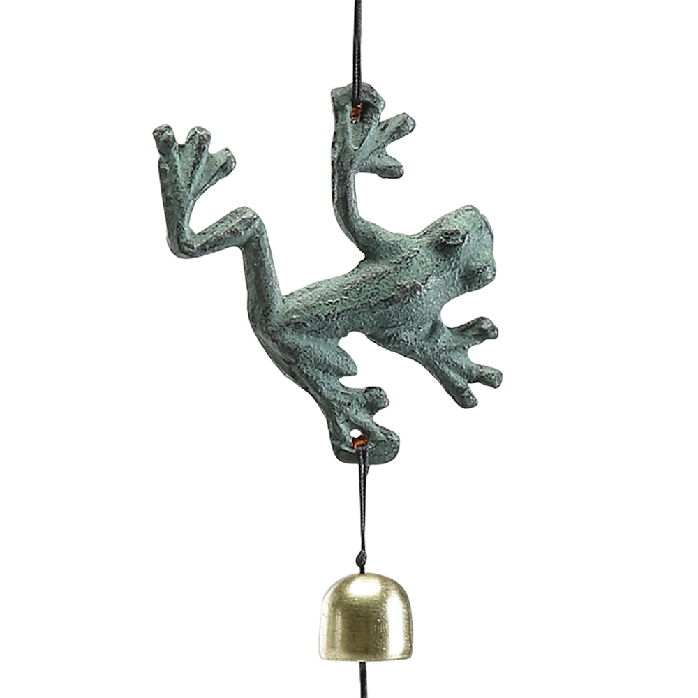 Frog Trio Wind Chime | 51091 | SPI Home