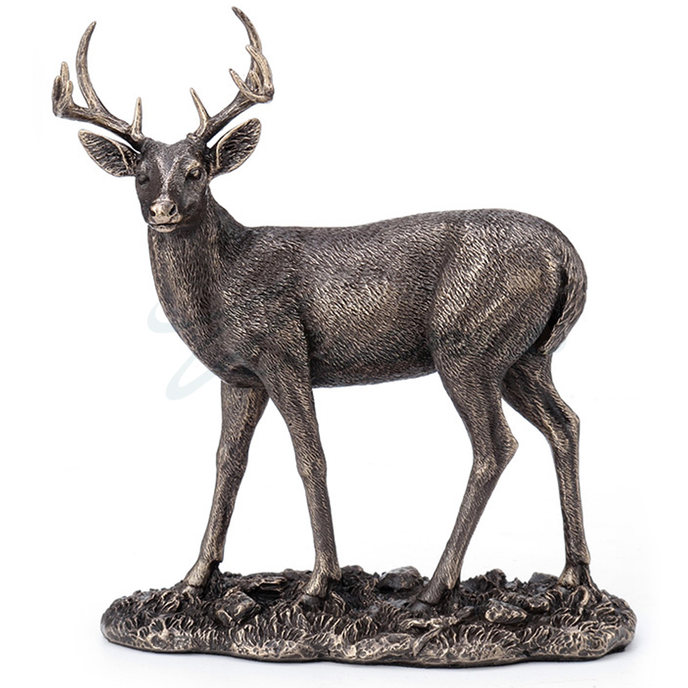 Deer Sculpture | Bronze Finish | Unicorn Studios | WU77568A1