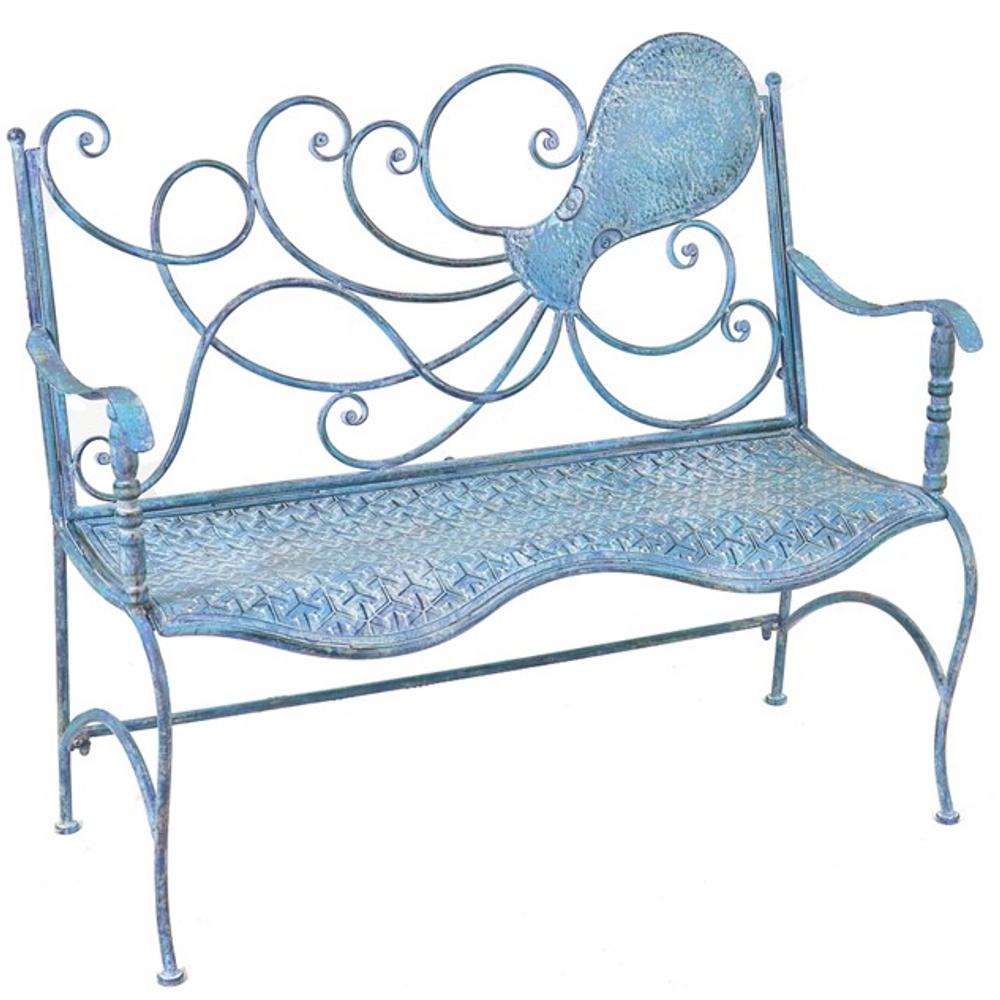 Octopus Iron Garden Bench | Zaer Ltd International | ZR160015