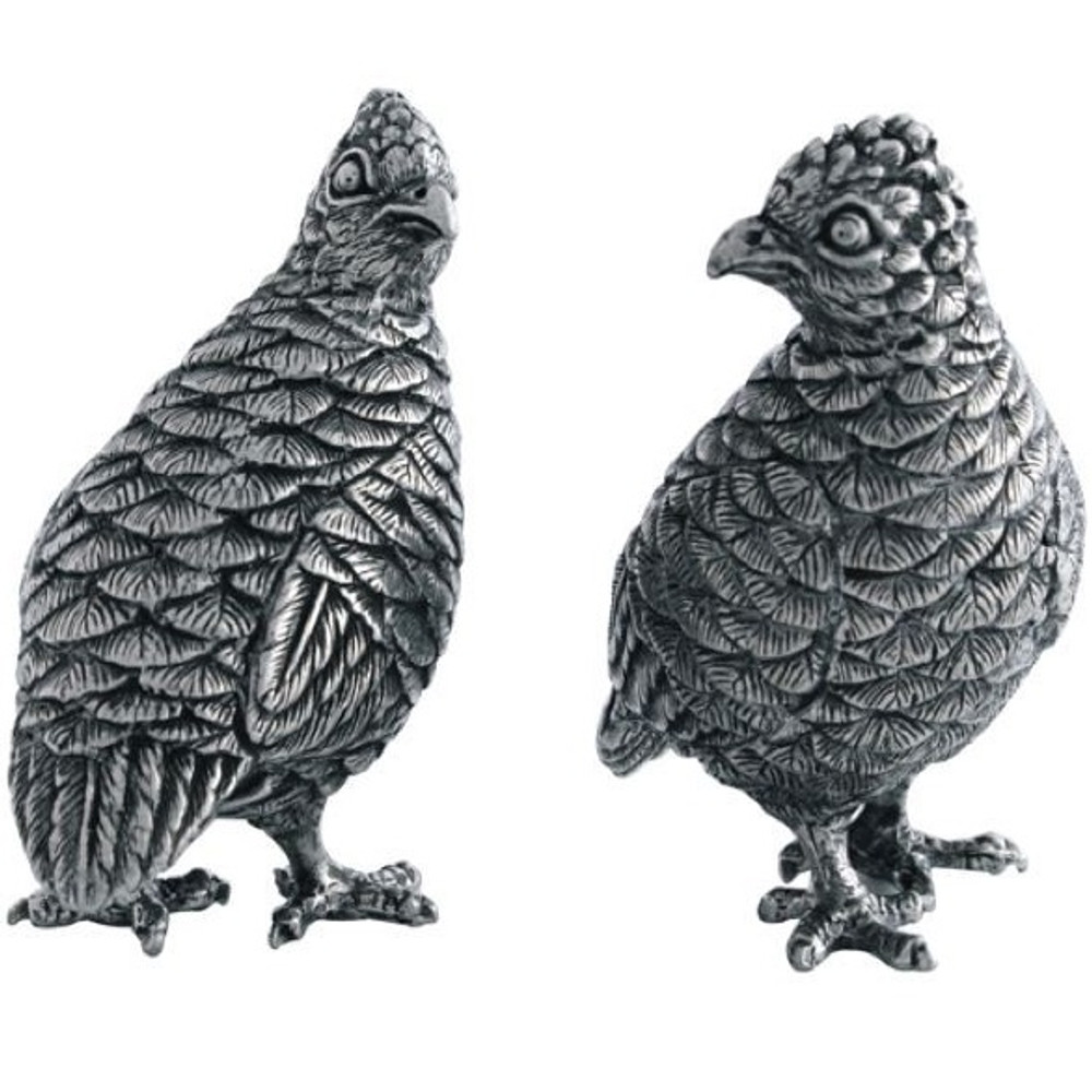 Quail Salt Pepper Shakers | Vagabond House | V923