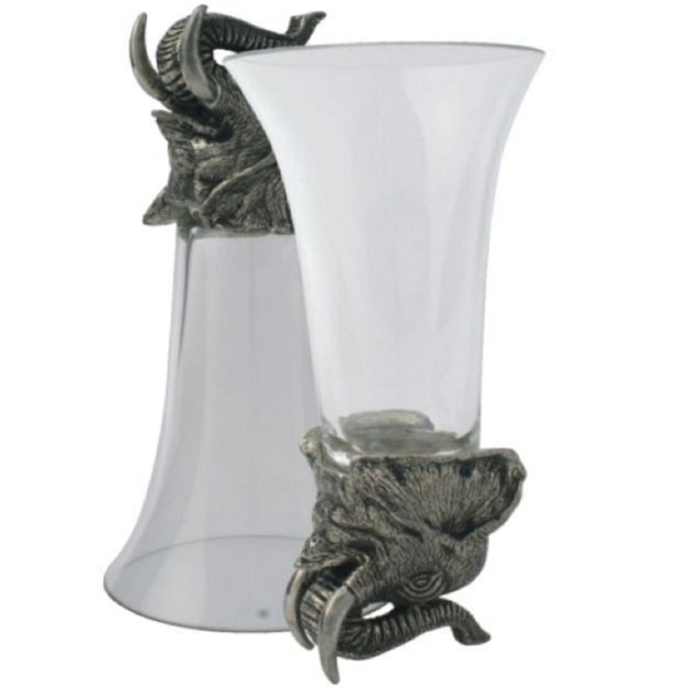 Elephant Stirrup Cup Set of 4 | Vagabond House | V942E