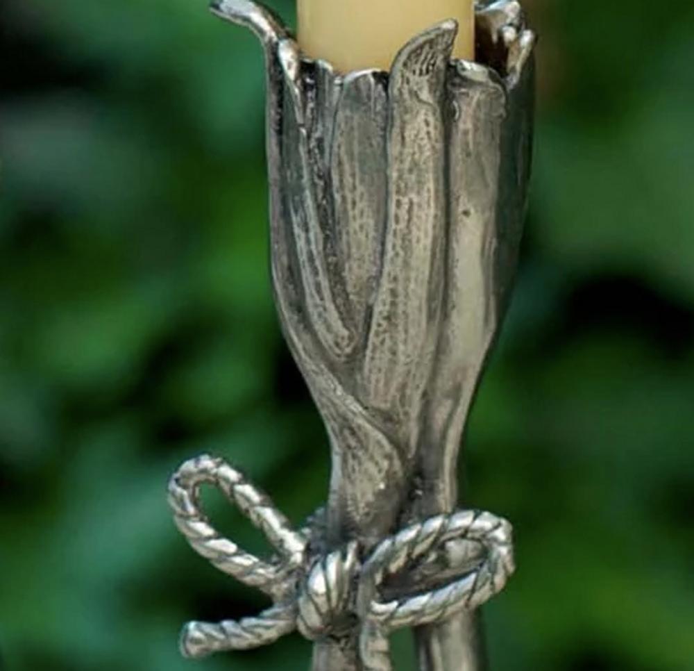 Garlic Pewter Candlestick | Vagabond House | R101G