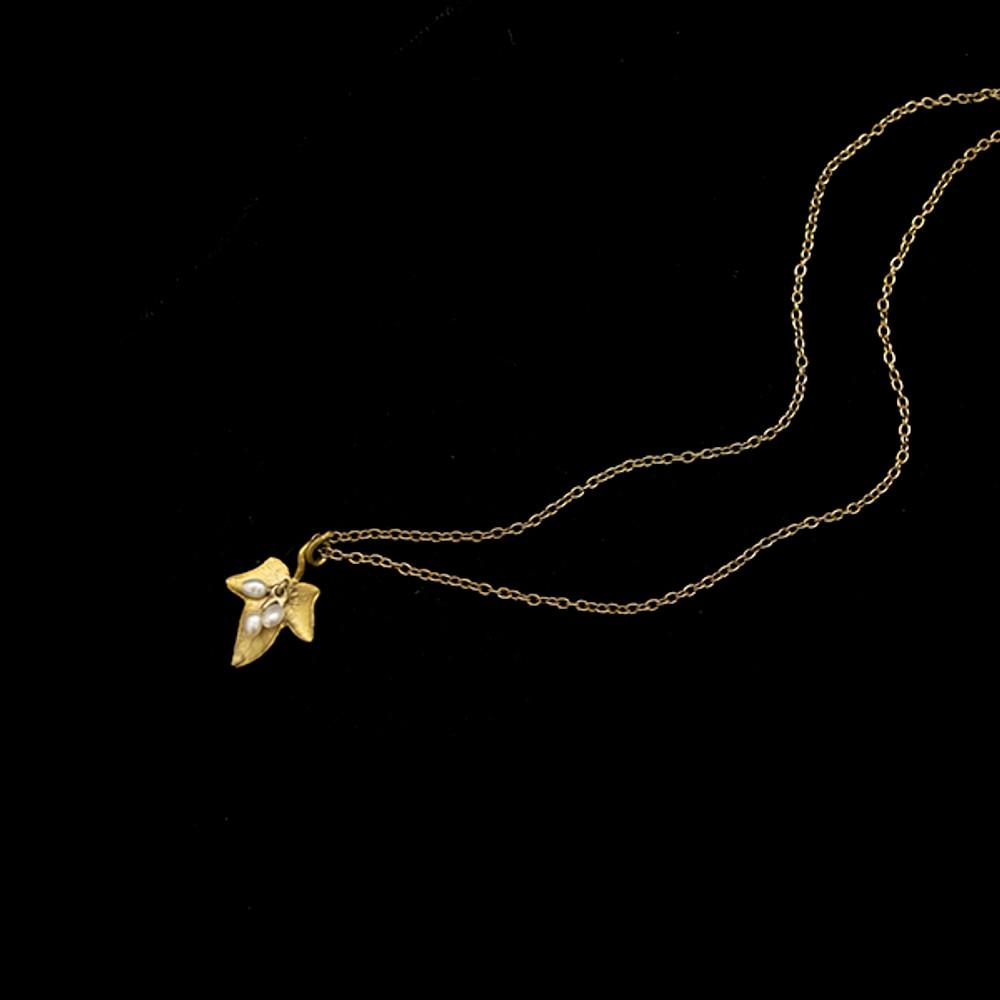 "Ivy 16"" Dainty Pendant Necklace | Nature Jewelry | Michael Michaud | 9298BZ"