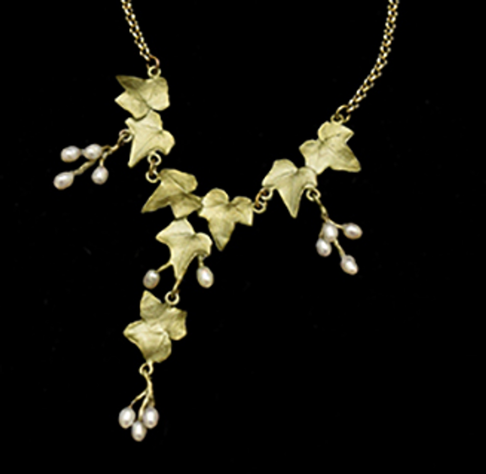 "Ivy Vine 16"" Necklace | Nature Jewelry | Michael Michaud | 9297BZ"