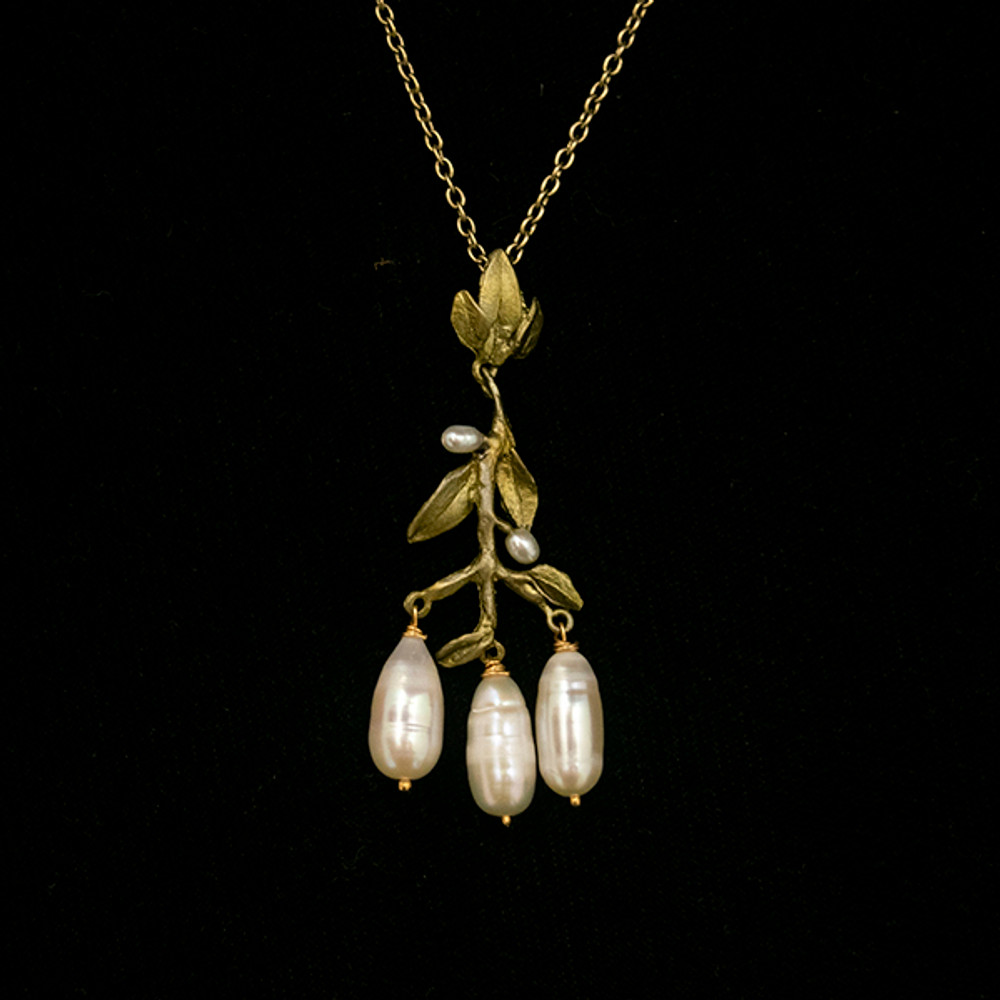 "Victorian Vine 16"" Chandelier Pendant Necklace 