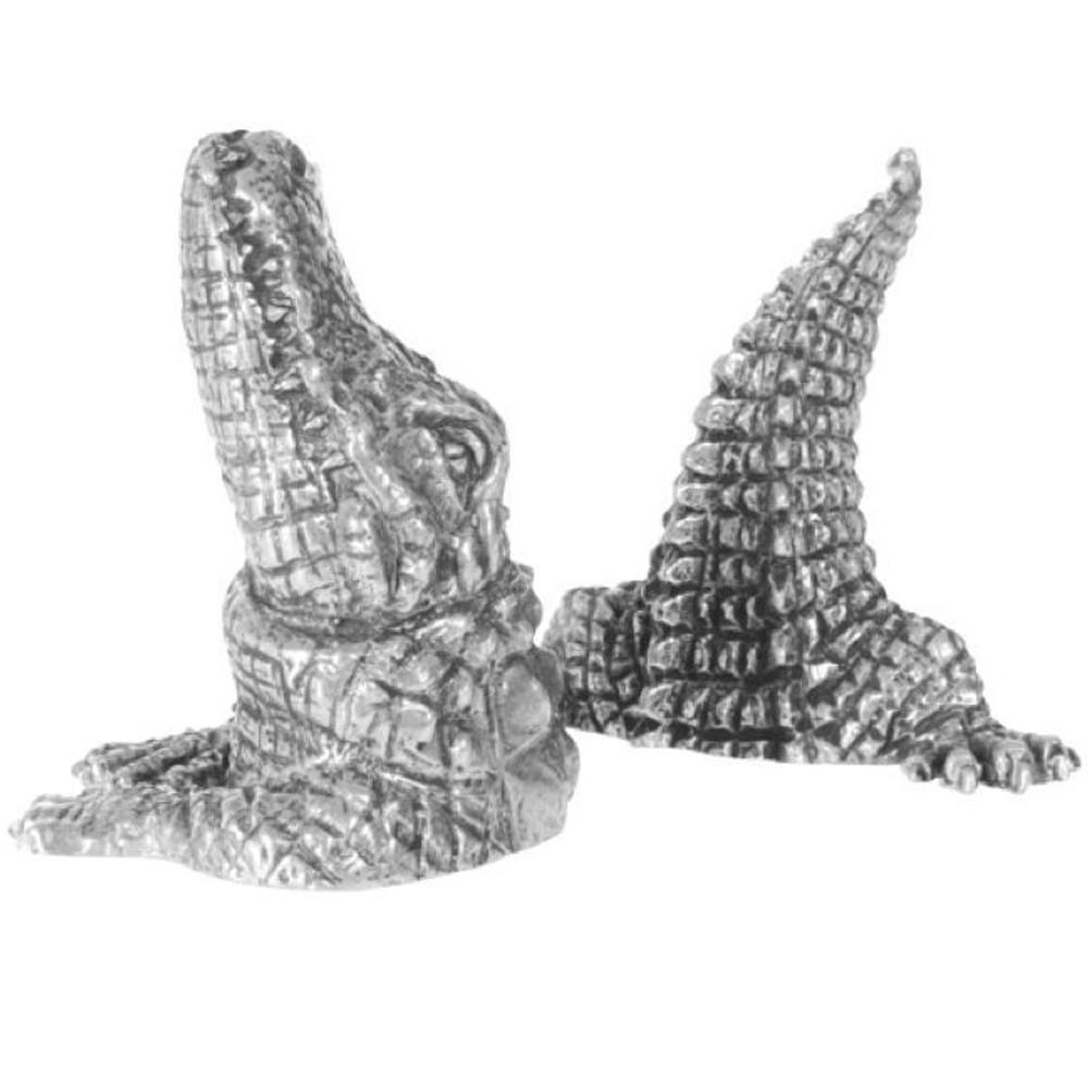 Alligator Salt Pepper Shakers | Vagabond House | V978