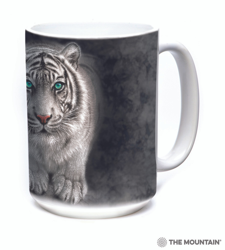 White Tiger 15oz Ceramic Mug | Wild Intentions | The Mountain | 57627409011