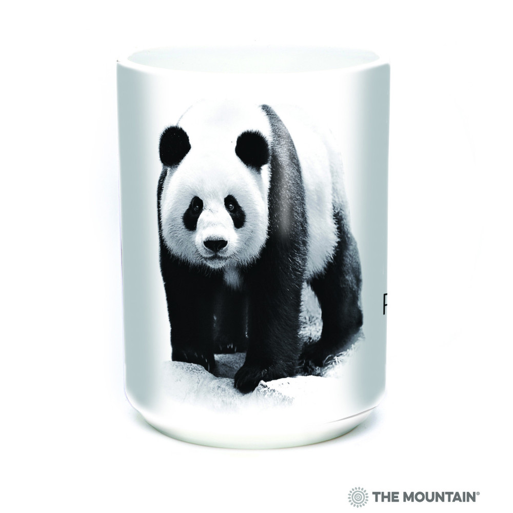 Panda Bear 15oz Ceramic Mug | Protect my Home | The Mountain | 57555509011 | Panda Bear Mug