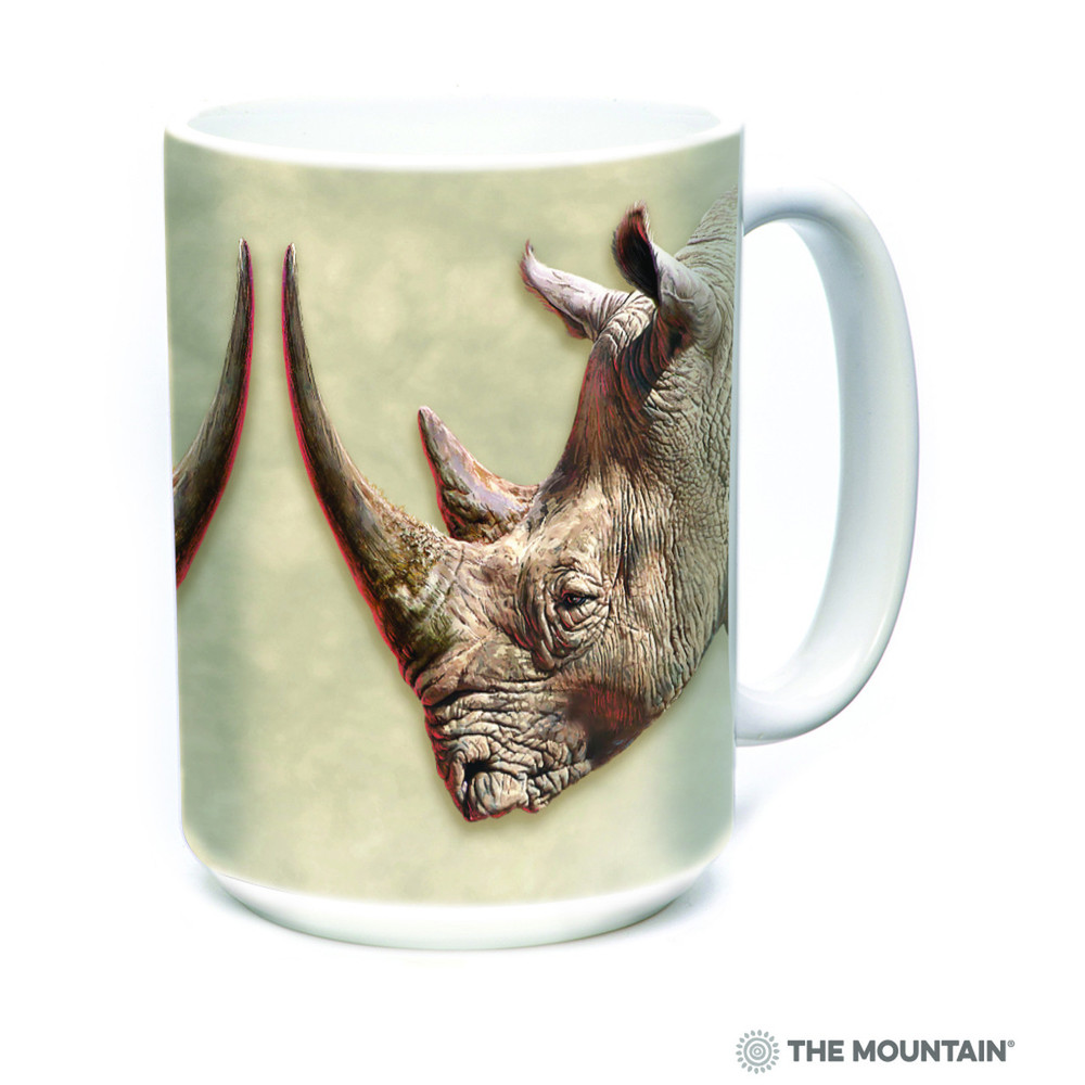White Rhino 15oz Ceramic Mug | The Mountain | 57590109011