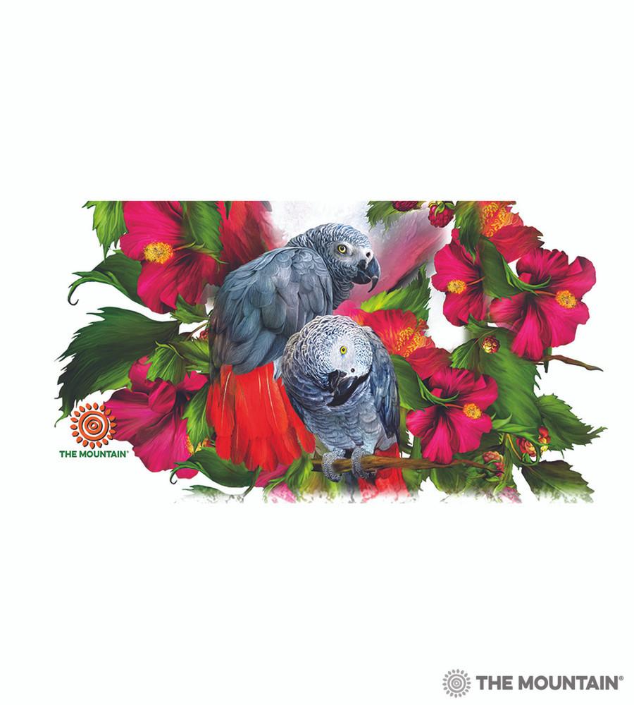 African Gray Parrot Mates 15oz Ceramic Mug | The Mountain | 57408709011 | Parrots Mug