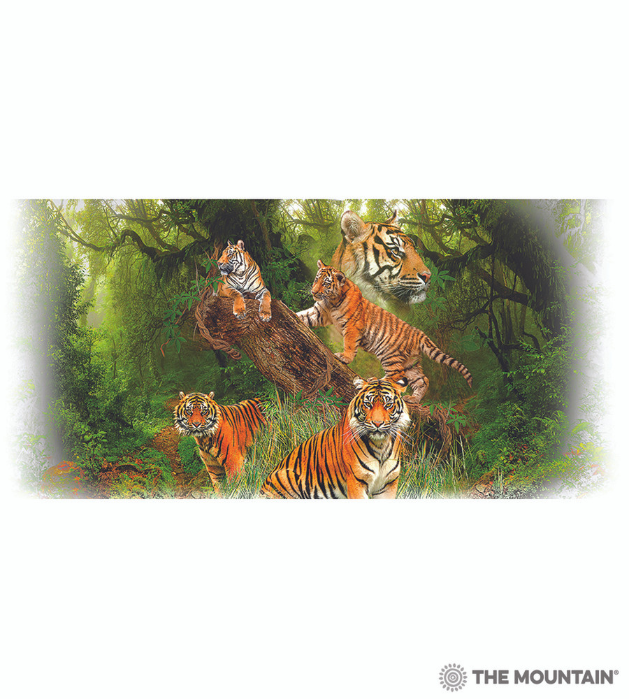 Wild Tiger Collage 15oz Ceramic Mug | The Mountain | 57588809011 | Tiger Mug