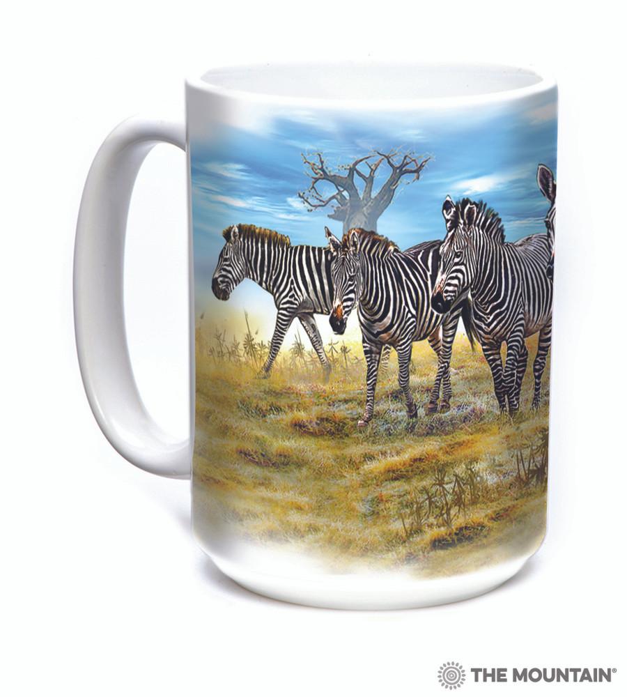 Zebra Gathering 15oz Ceramic Mug | The Mountain | 57591309011 | Zebra Mug