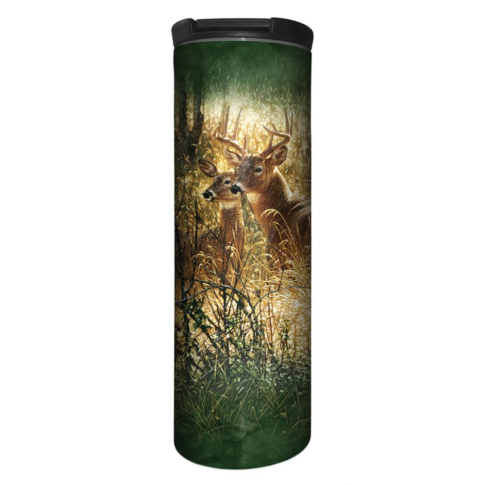 Golden Moment Deer Stainless Steel 17oz Travel Mug   The Mountain   5961671   Deer Travel Mug