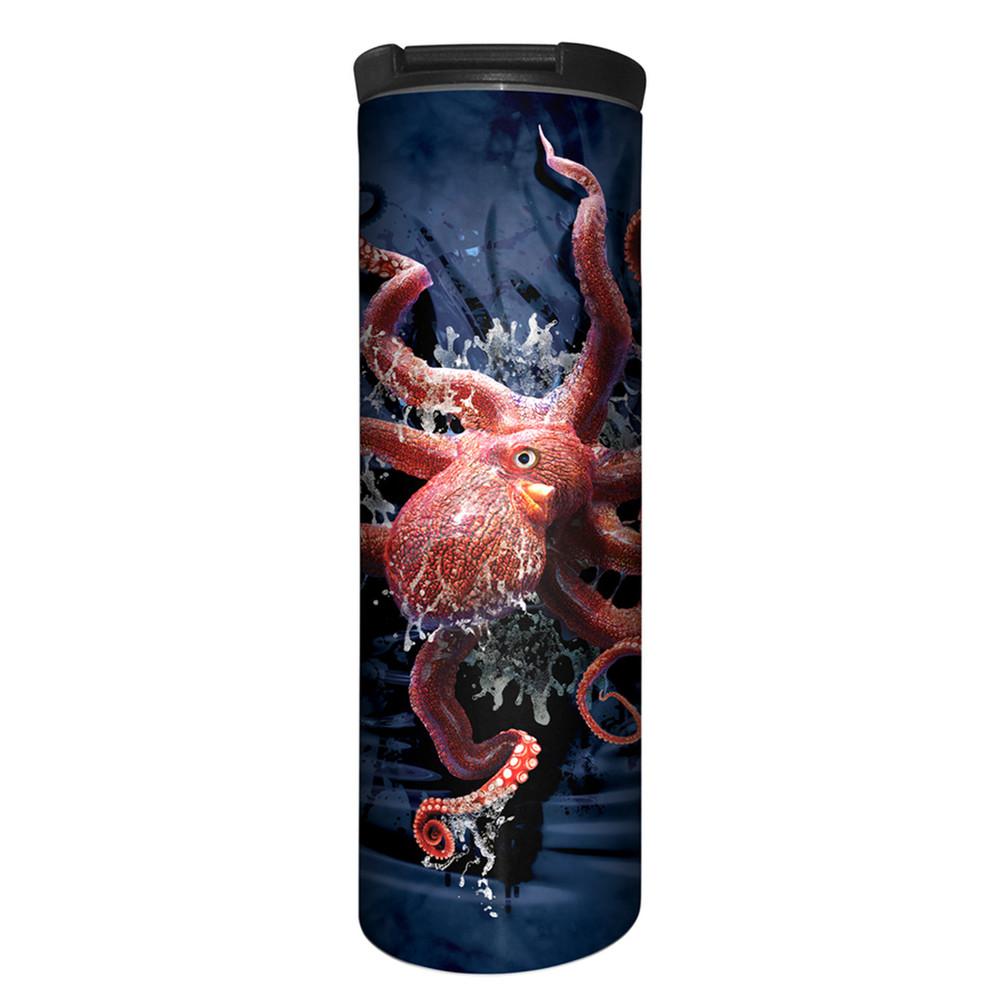 Octopus Climb Stainless Steel 17oz Travel Mug | The Mountain | 5959531 | Octopus Travel Mug