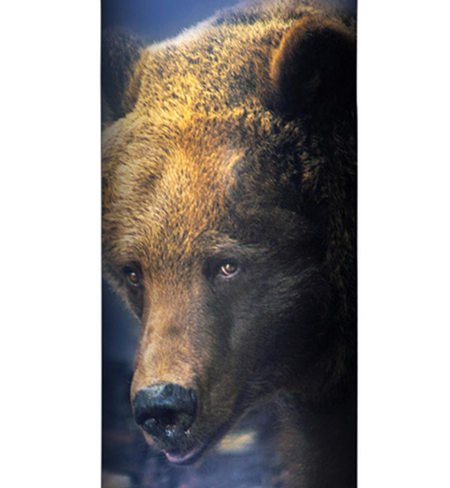 Foraging Bear Stainless Steel 17oz Travel Mug | The Mountain | 5961661 | Bear Travel Mug