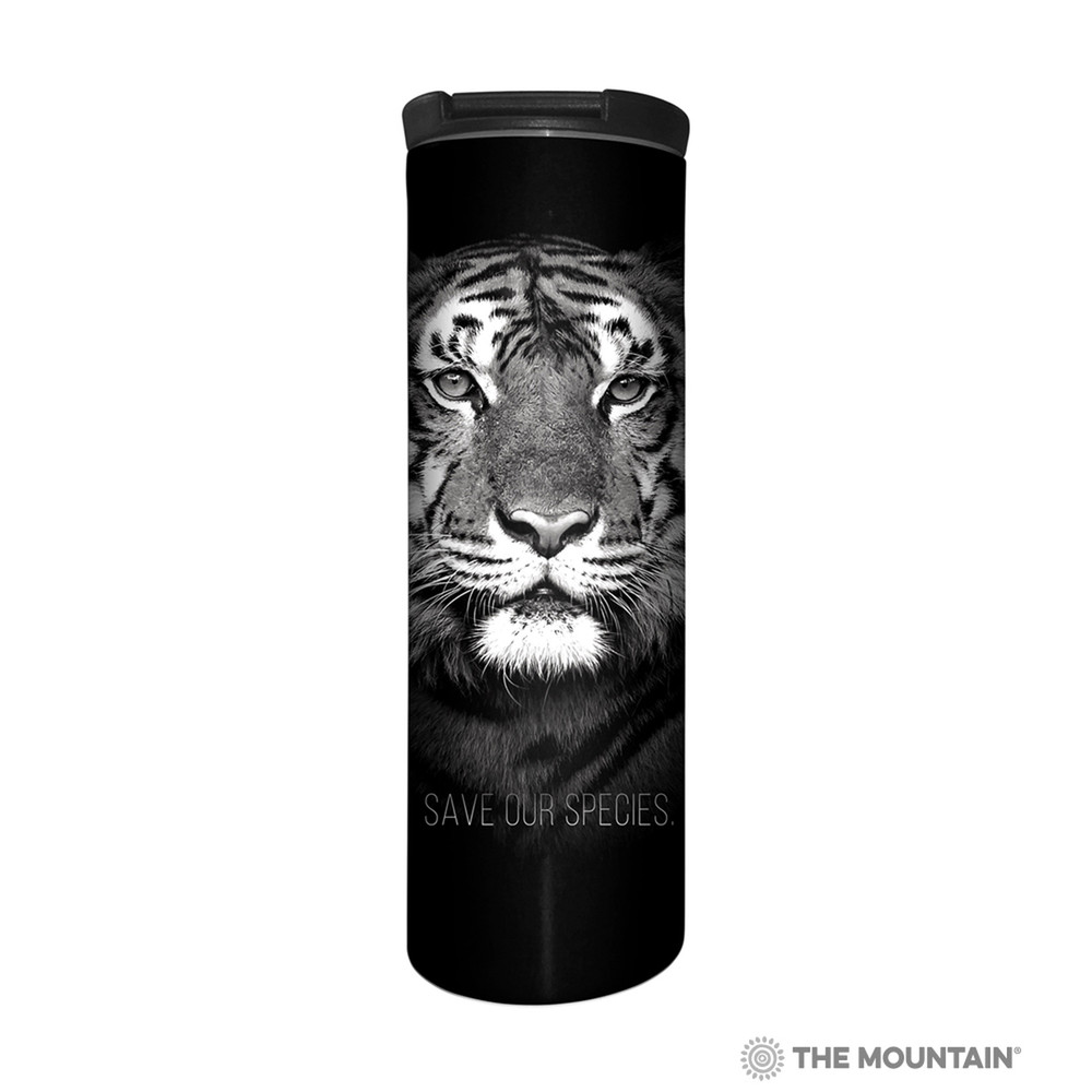 Tiger Stainless Steel 17oz Travel Mug | Save Our Species | The Mountain | 5959781 | Tiger Travel Mug