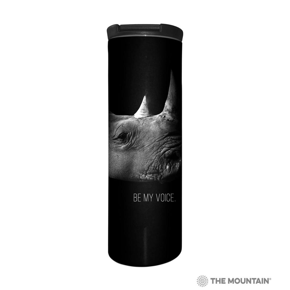 Rhino Stainless Steel 17oz Travel Mug | Be My Voice | The Mountain | 5959771 | Rhino Travel Mug