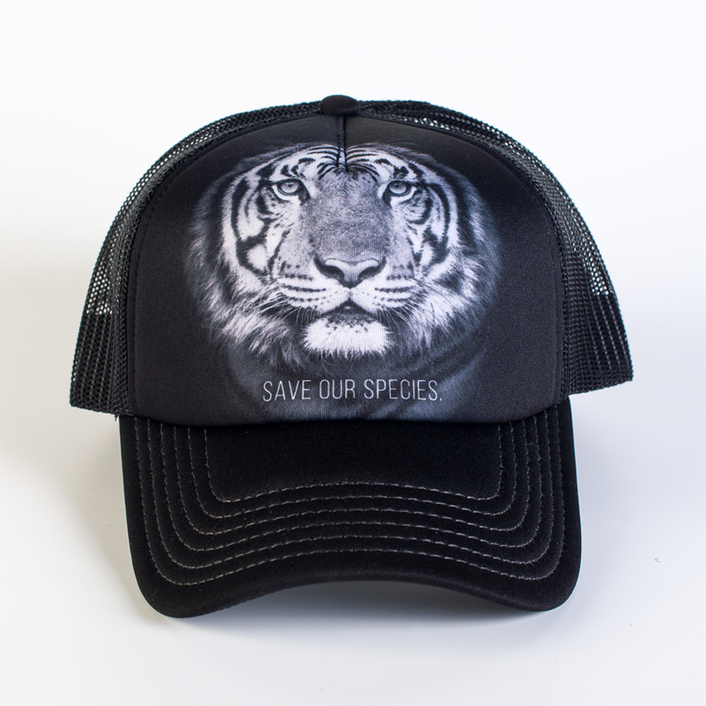 Tiger Trucker Hat | Save Our Species | The Mountain | 7659789 | Tiger Hat