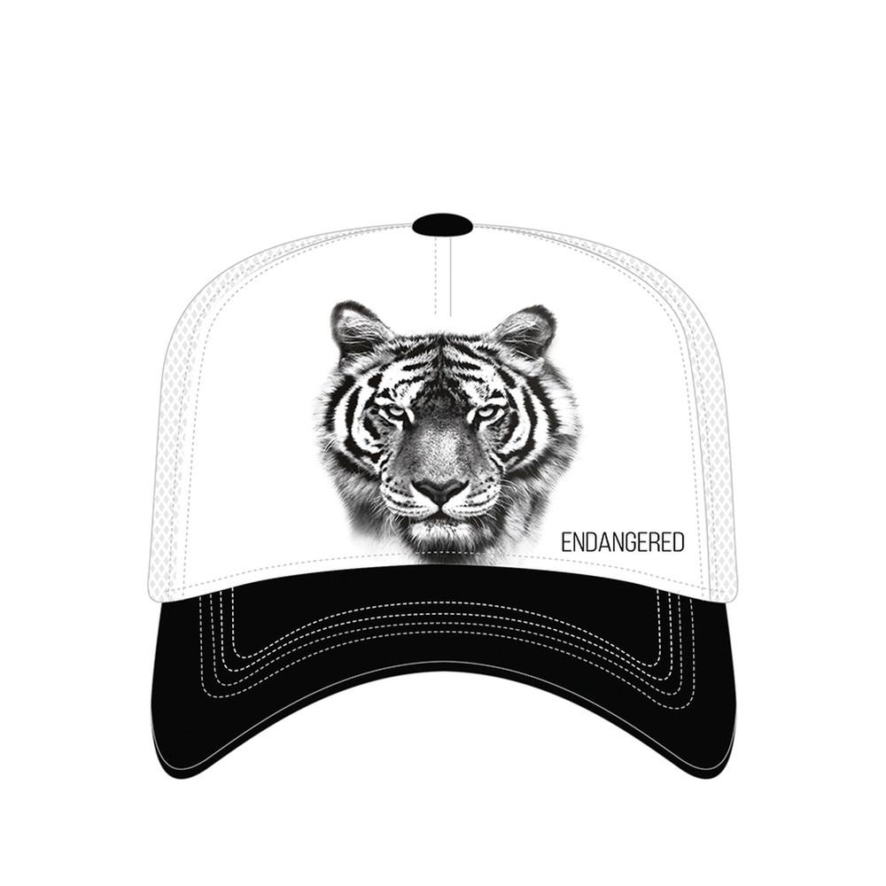Endangered Tiger Trucker Hat   The Mountain   7655519   Tiger Hat