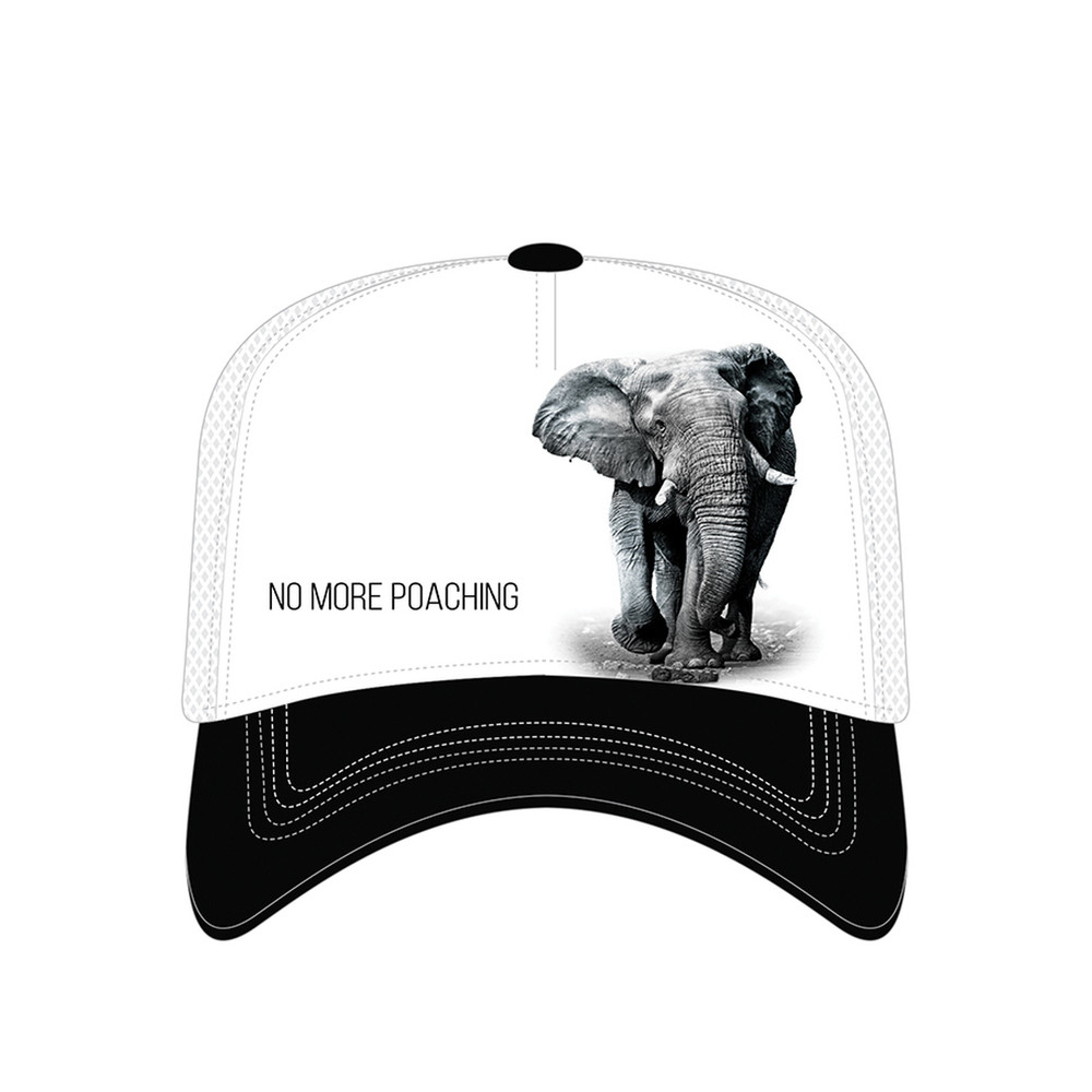 Elephant Trucker Hat | No More Poaching | The Mountain | 7655509 | Elephant Hat