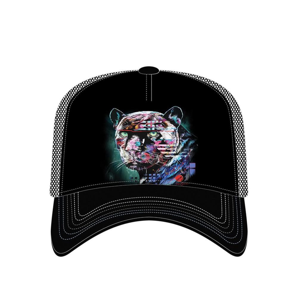 Painted Jaguar Trucker Hat | The Mountain | 76632401009 | Jaguar Hat