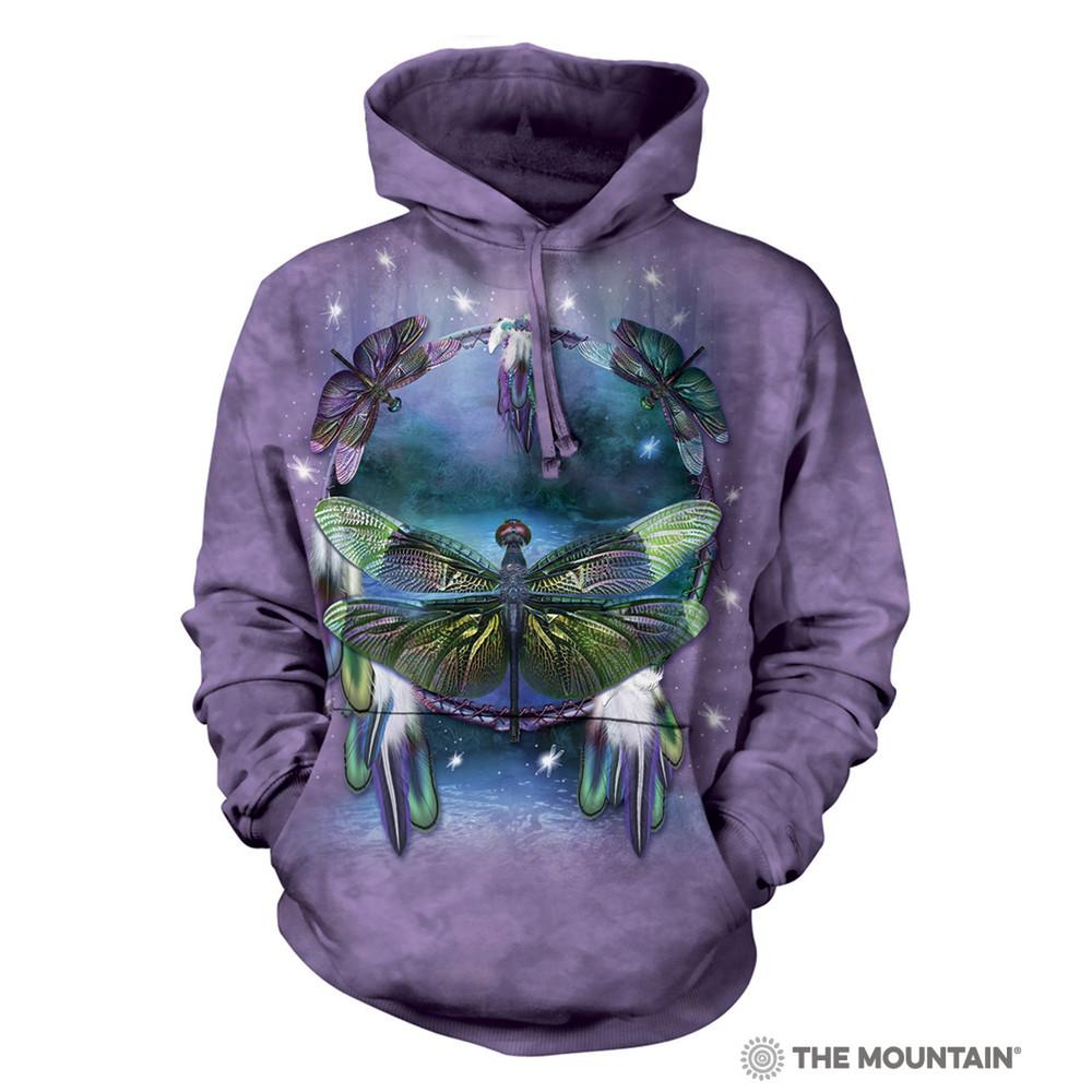 Dragonfly Dreamcatcher Unisex Hoodie | The Mountain | 723397 | Dragonfly Sweatshirt