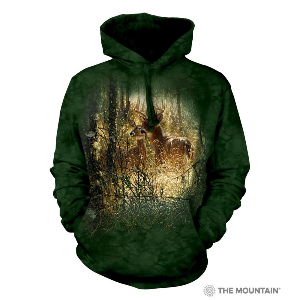 Golden Moment Deer Unisex Hoodie | The Mountain | 726167 | Deer Sweatshirt