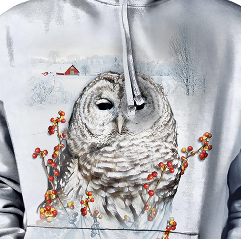 Country Owl Unisex Hoodie   The Mountain   726394   Owl Sweatshirt