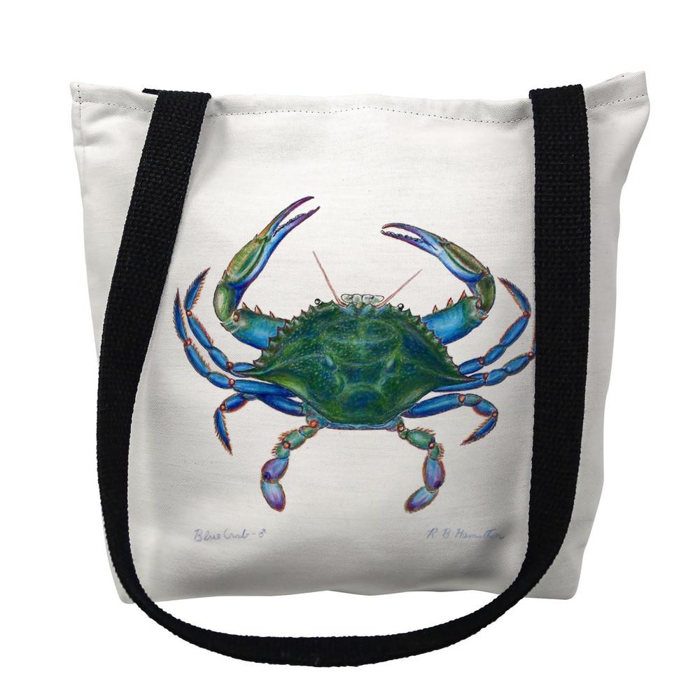 Blue Crab Tote Bag   Betsy Drake   TY005M