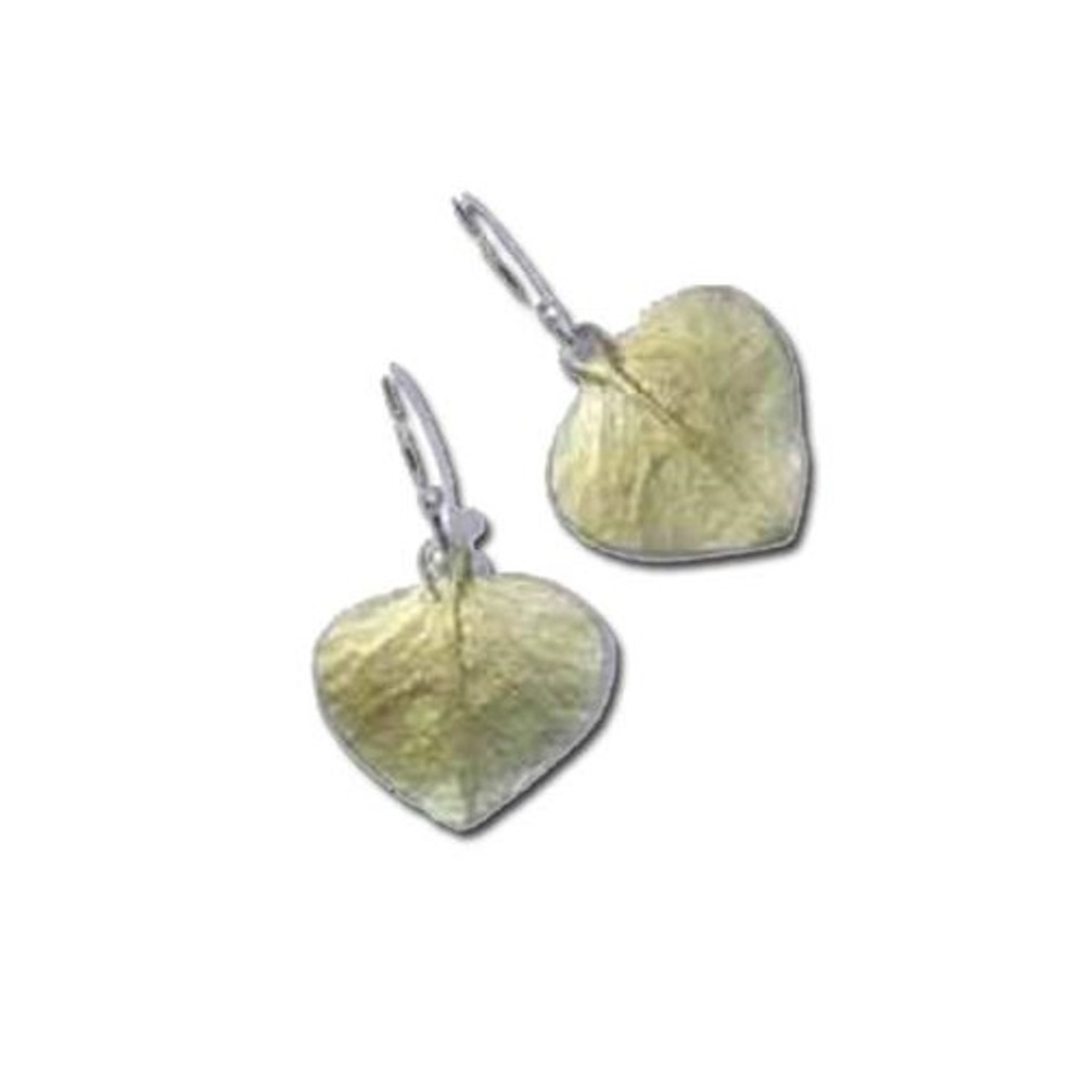 Eucalyptus Drop Wire Earrings | Michael Michaud Jewelry | SS4070bz